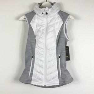 ZELLA Zelfusion Water Repellent Vest White Gray S